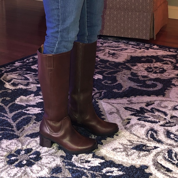 Clarks Womens Hollis Moon Boots